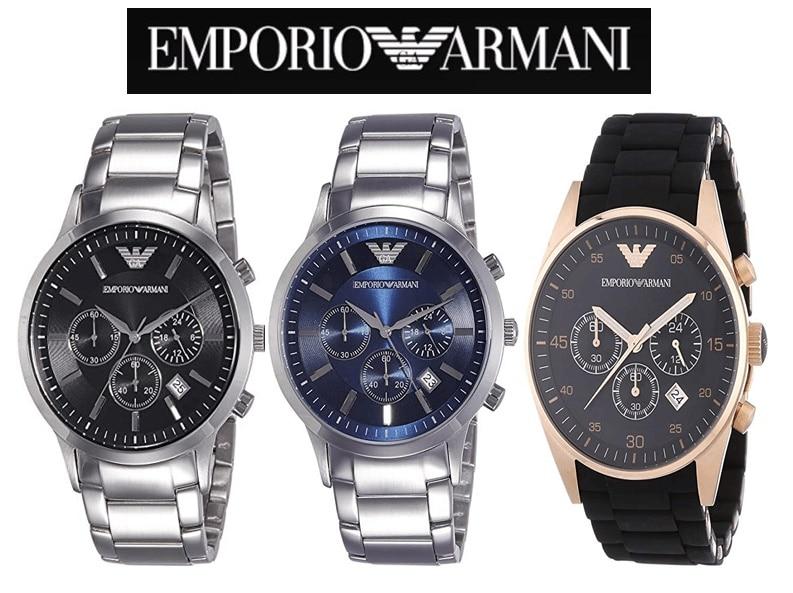 Orologi da Polso Emporio Armani: Prezzi, Modelli, Opinioni